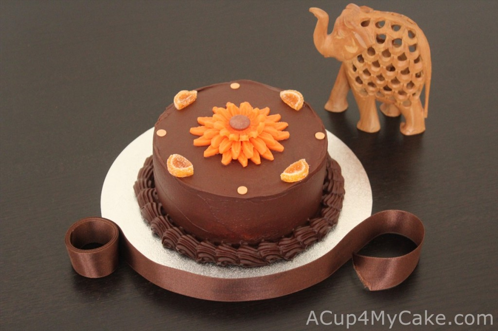 Orange & Chocolate Cake