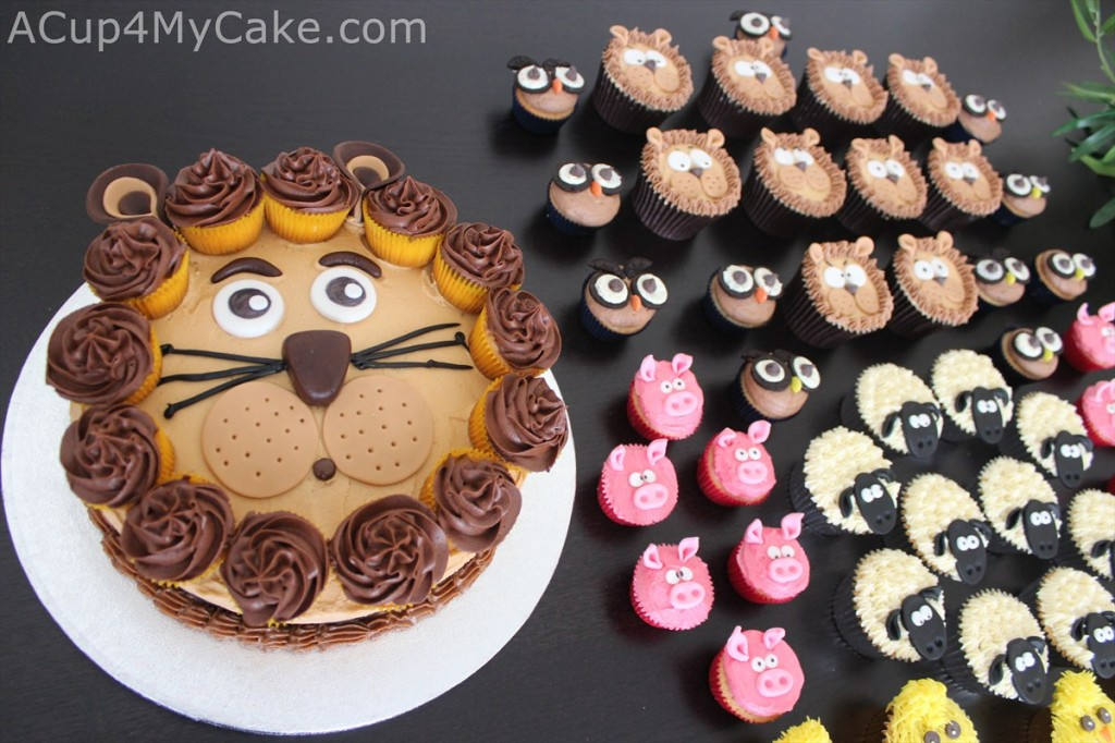 Animal Party Cakes