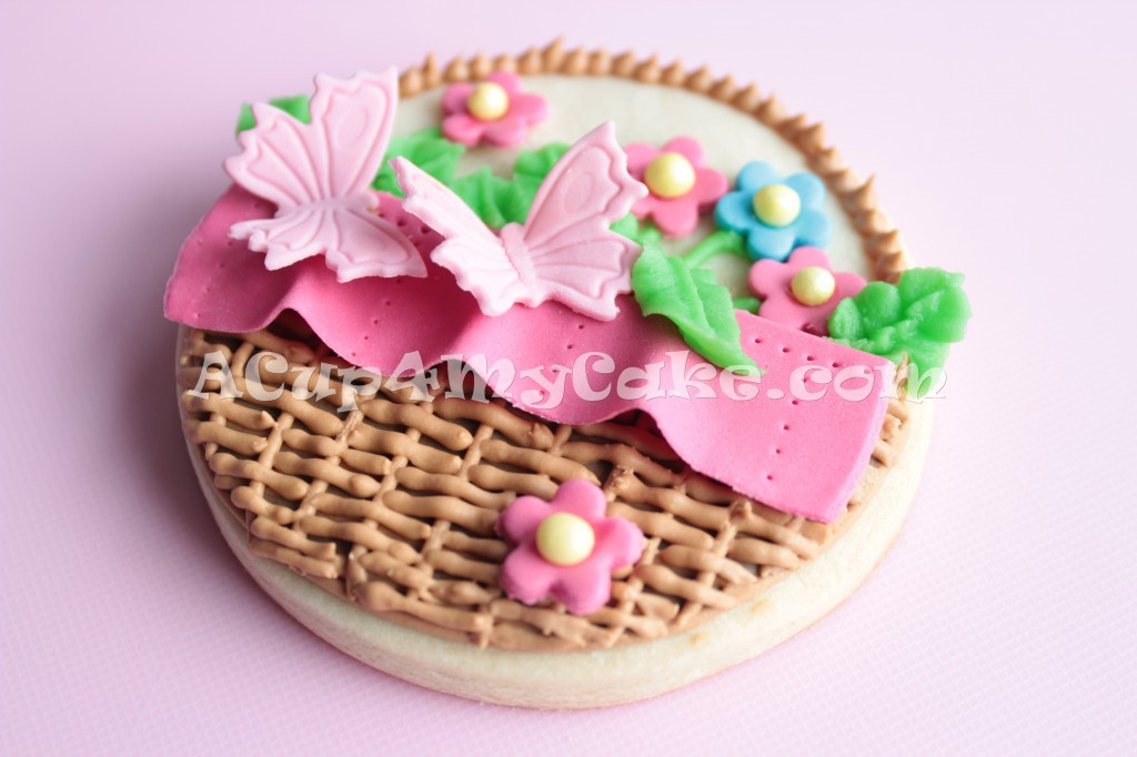 Spring Basket Cookies