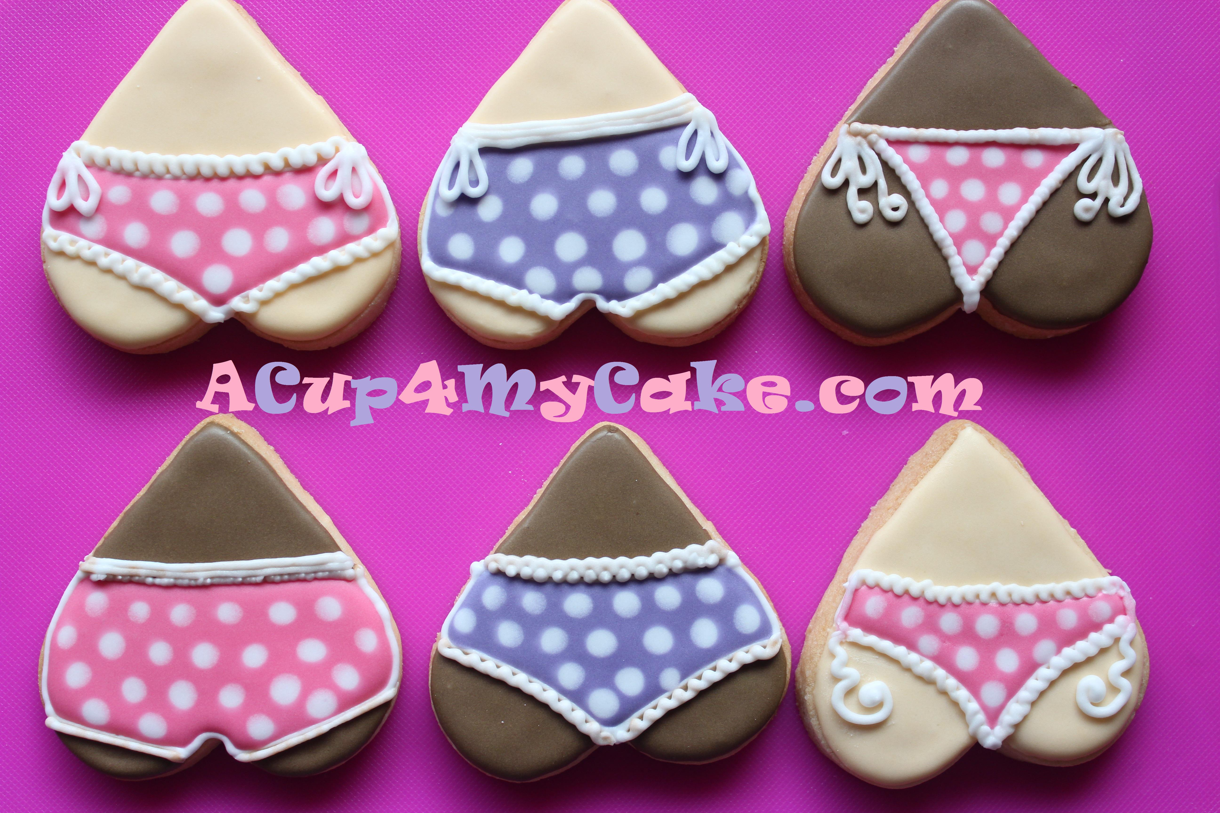 2019 year for lady- How to underwear make cookies