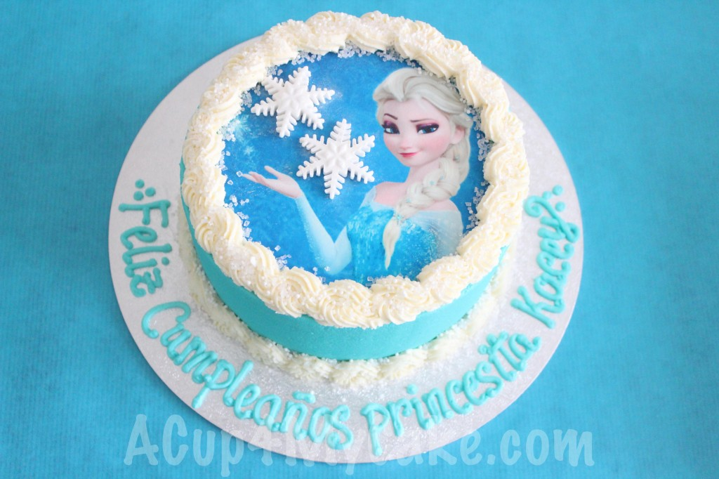 Elsa Birthday Cake Brisbane Image Inspiration of Cake and Birthday