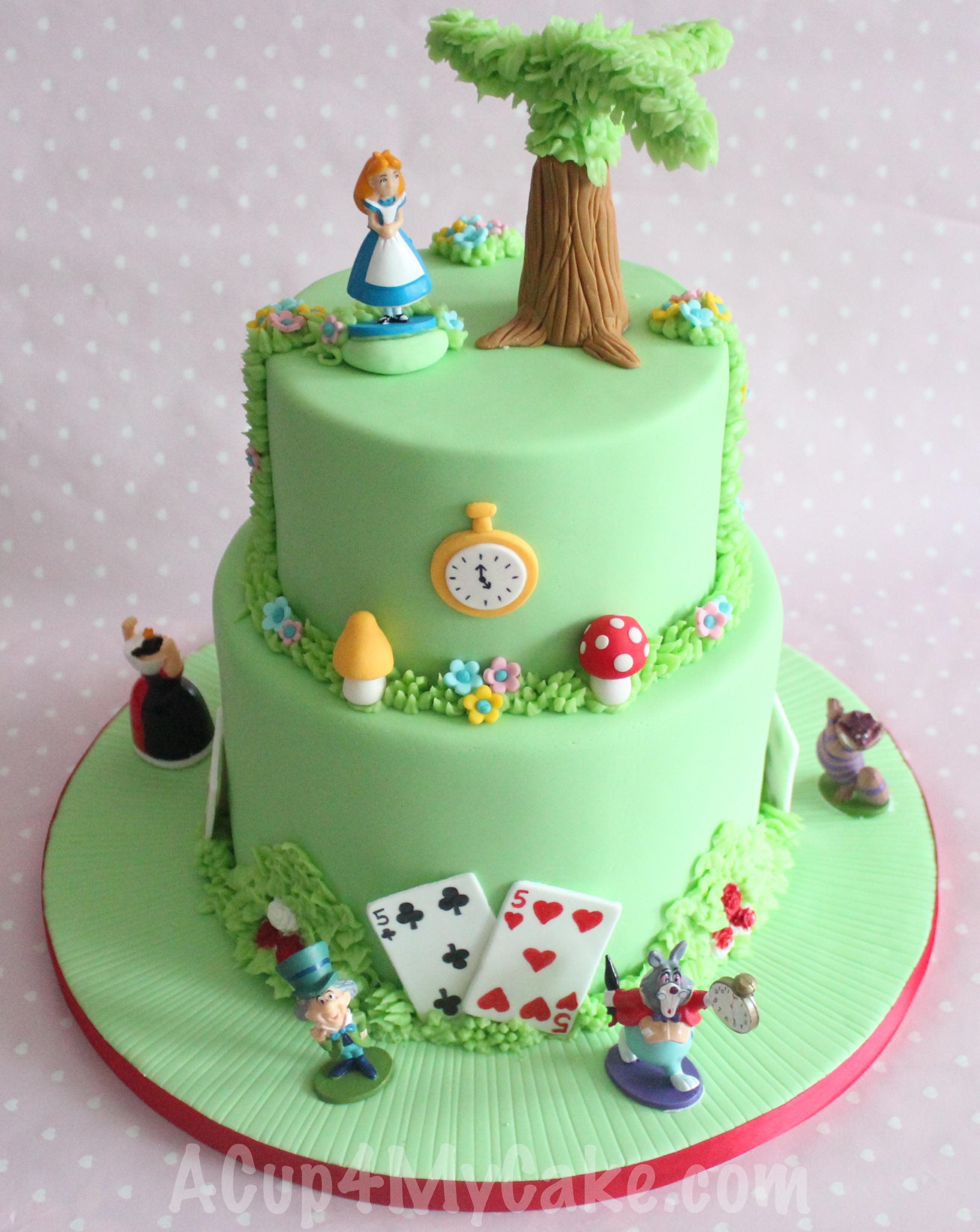 Mad Hatter Birthday Cake Ideas